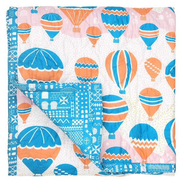 Balloons at Dawn Baby Quilt