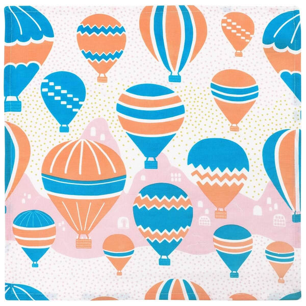 Balloons at Dawn Napkins - Set of 2