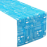 Blue Stone Symbol Table Runner