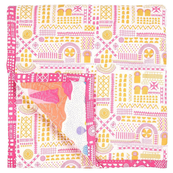 Fairy Chimney Baby Quilt