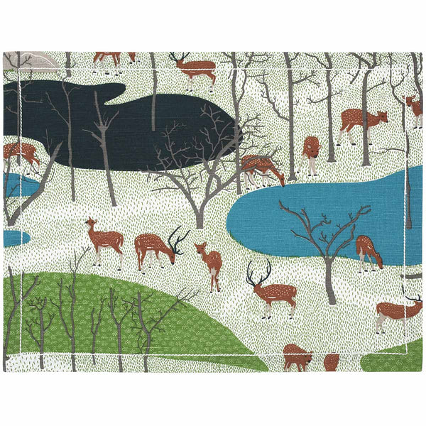 Spotted Deer Placemats - Set of 2
