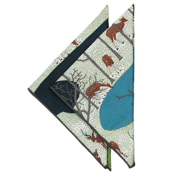 Spotted Deer Napkins - Set of 2
