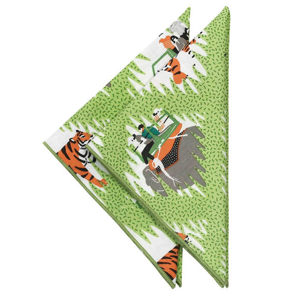 Tiger Safari Napkins - Set of 2