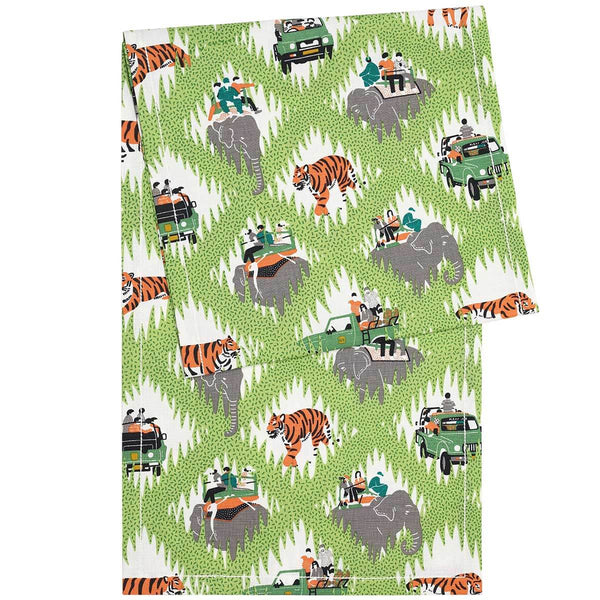 Tiger Safari Table Runner