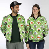 Tiger Safari Unisex Bomber Jacket