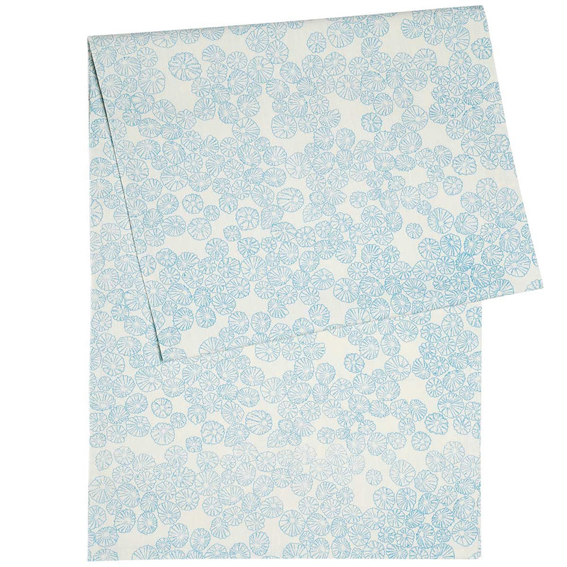 Light Blue Limpet Table Runner
