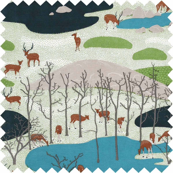 Spotted Deer Fabric
