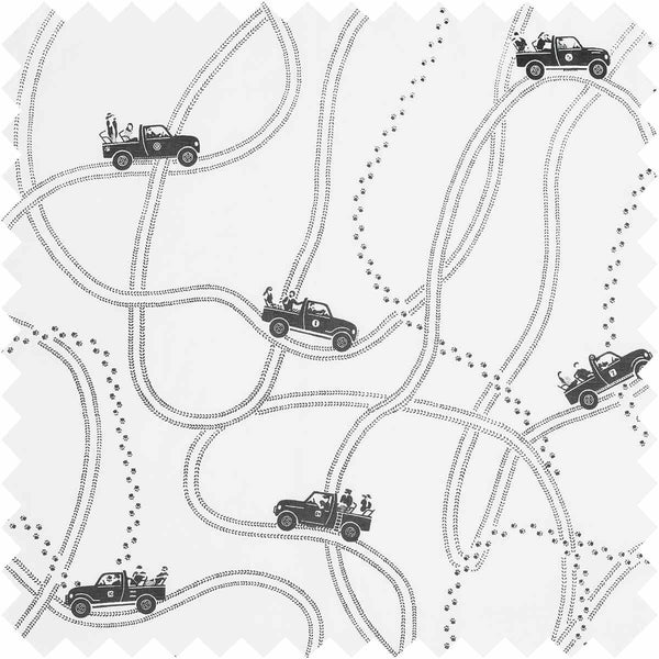 Tracks and Trails Fabric