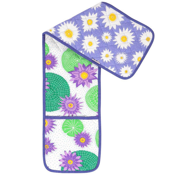 Victoria Lily Double Oven Glove