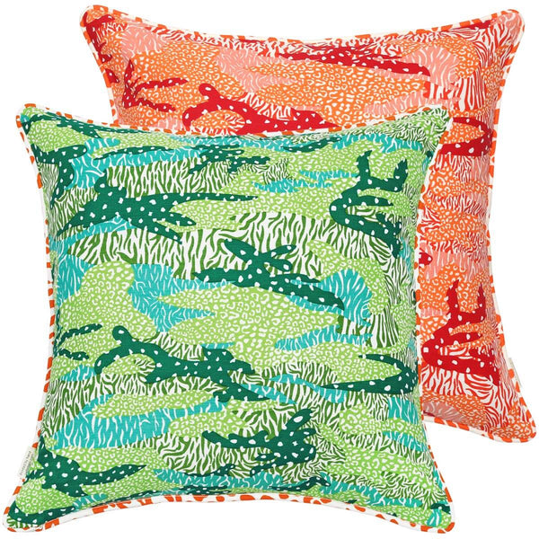 Big Cat Camo Cushion Cover