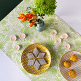 Green Riviera Table Runner