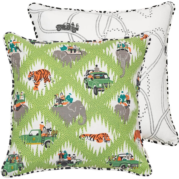 Safari Tracks Cushion Cover