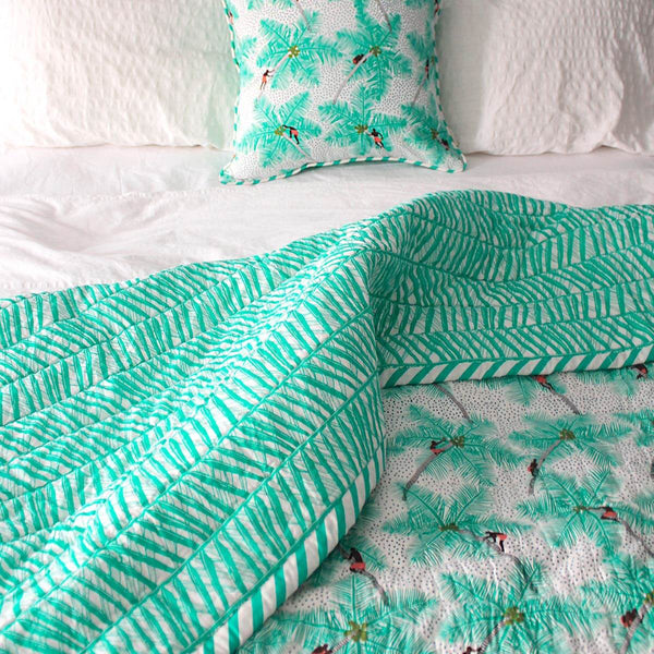Coconut Palm Pickers Quilt