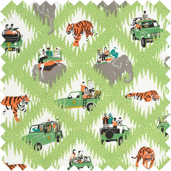 Tiger Safari Fabric