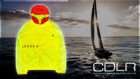 CDLR Fluorescent Zip up jacket