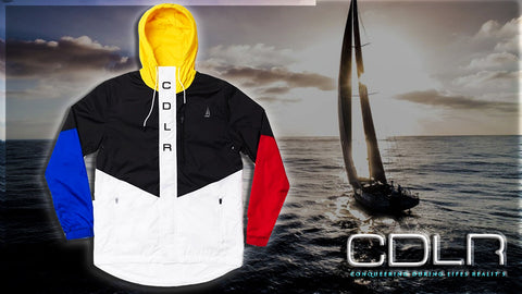CDLR Multi Color Zip up jacket