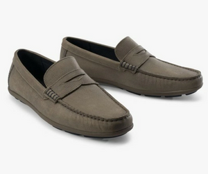 Load image into Gallery viewer, Johnnie-O Men's Mox Loafers - Gray