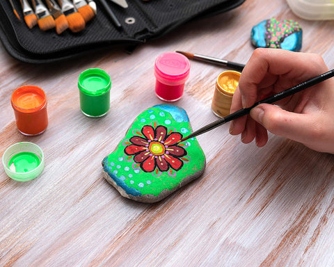 DACO Blog How to start with rock painting