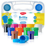 Brillia Kids Paint, set of 12