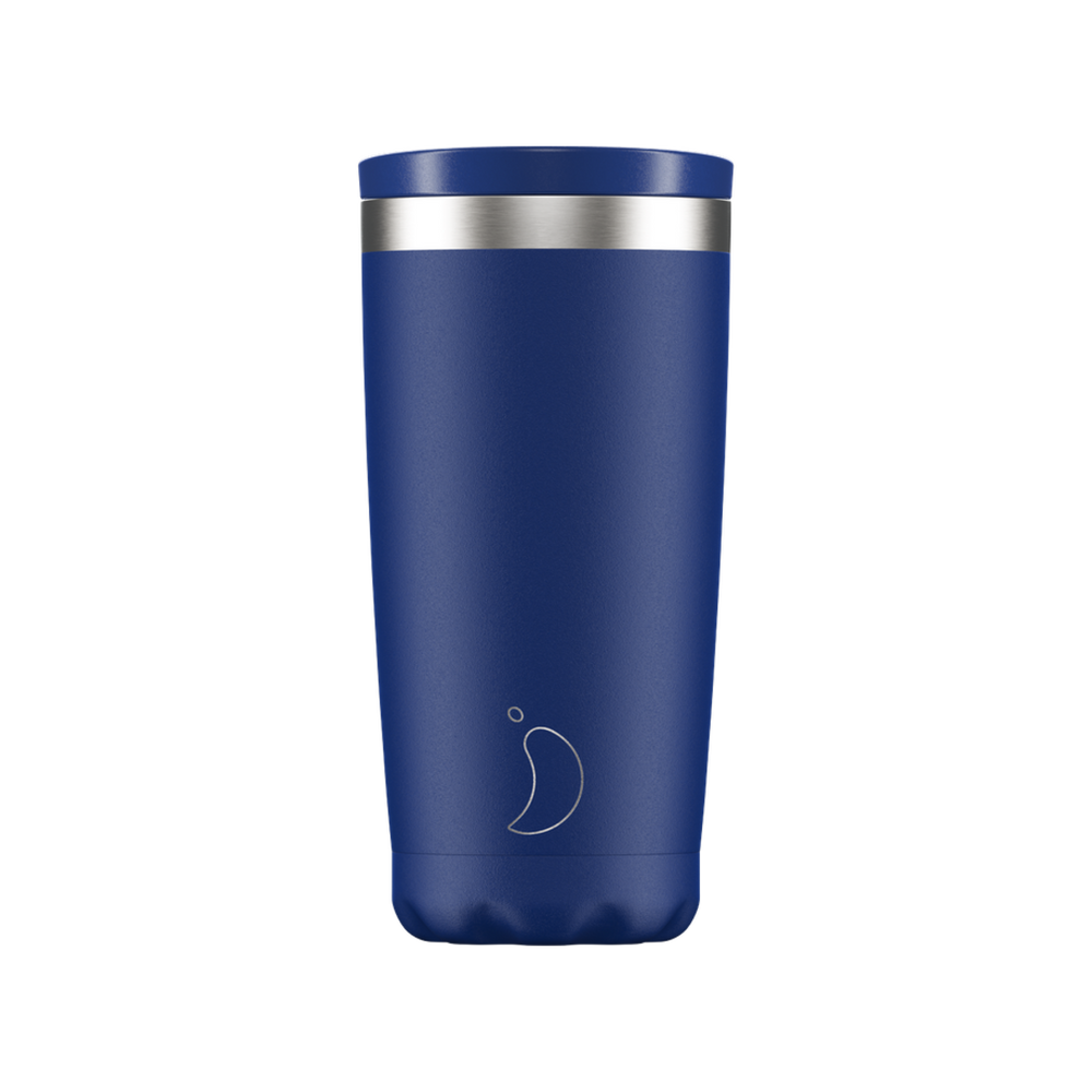 Chilly's Coffee Cup Matte Blue 500ml