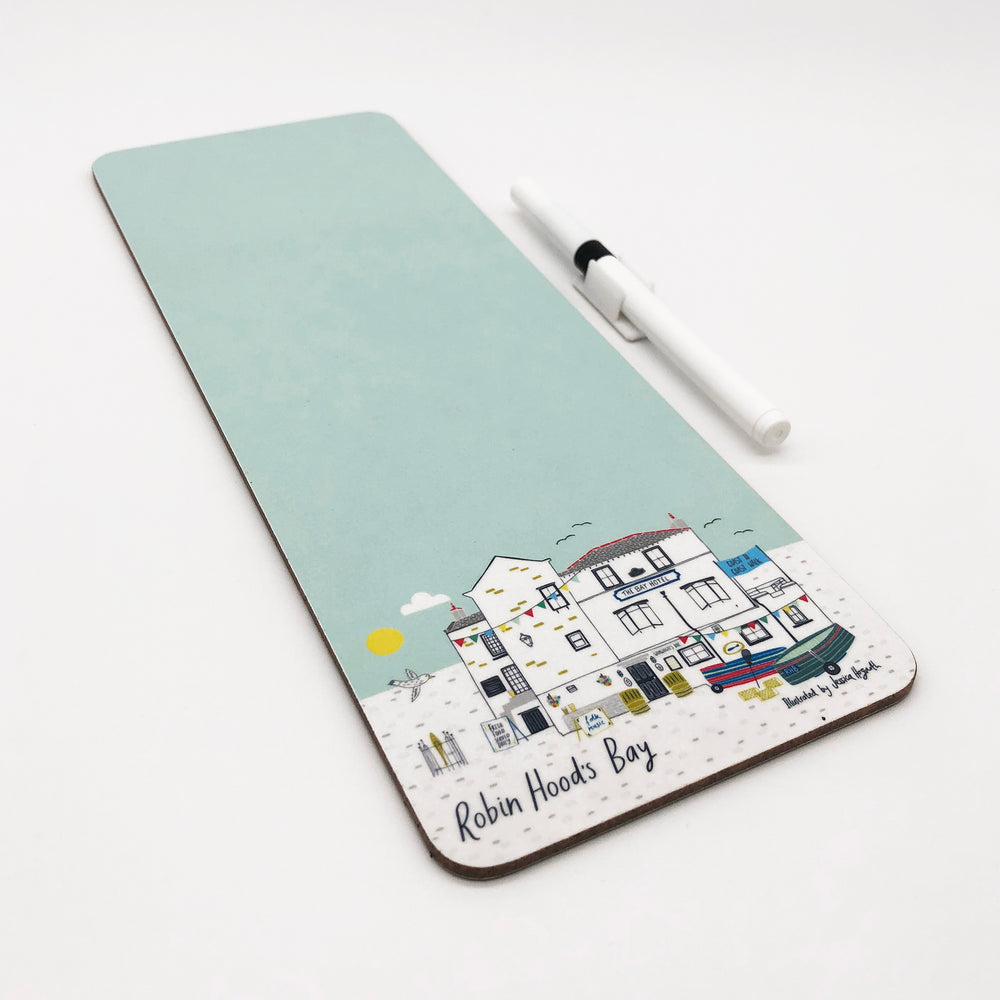 Bay Hotel Dry Wipe Magnetic Memo Board