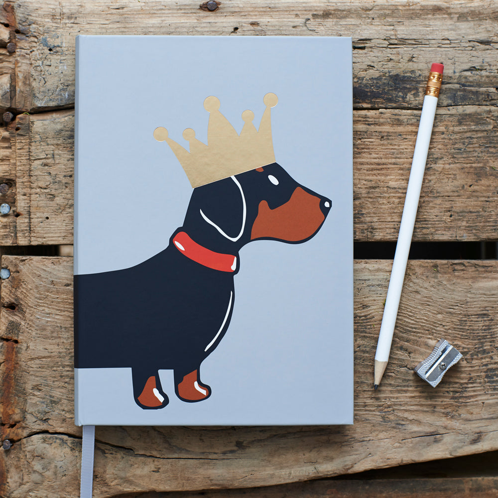Load image into Gallery viewer, Dachshund Hard Back Notebook