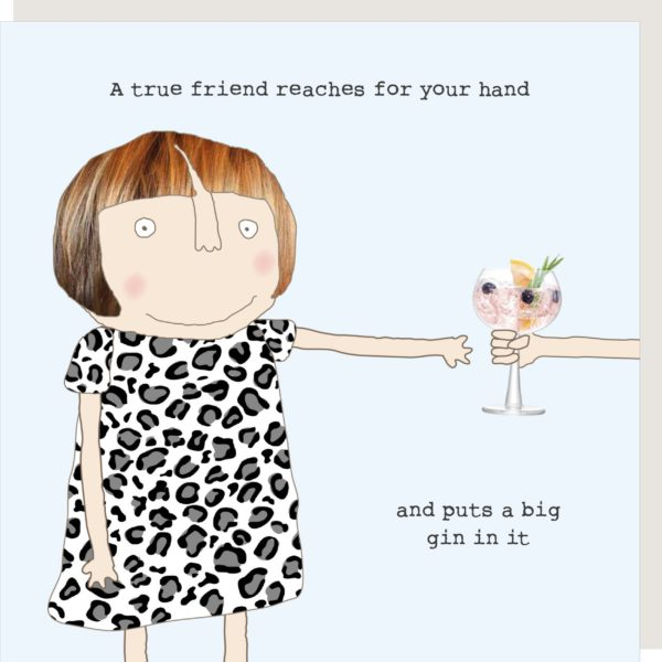 Big Gin Friend Card
