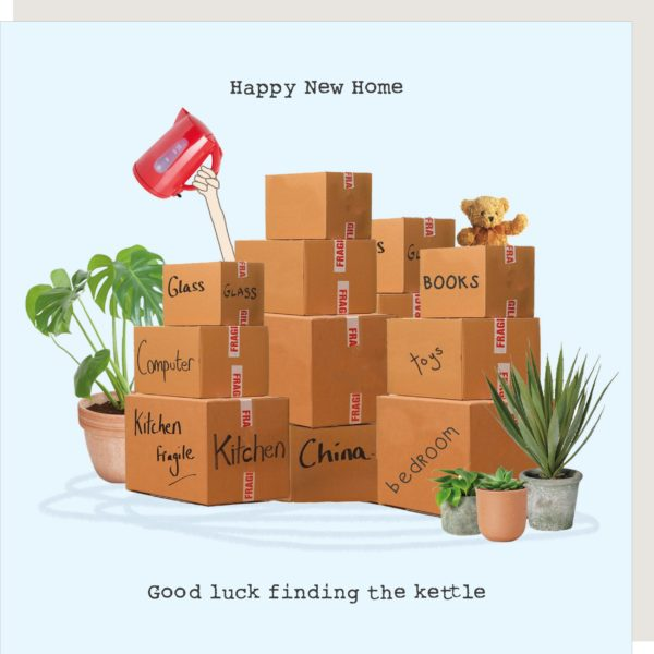Good Luck Finding The Kettle New Home Card