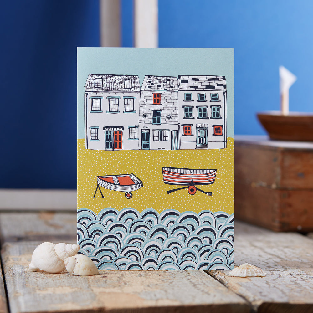 Life by the Sea Greeting Card