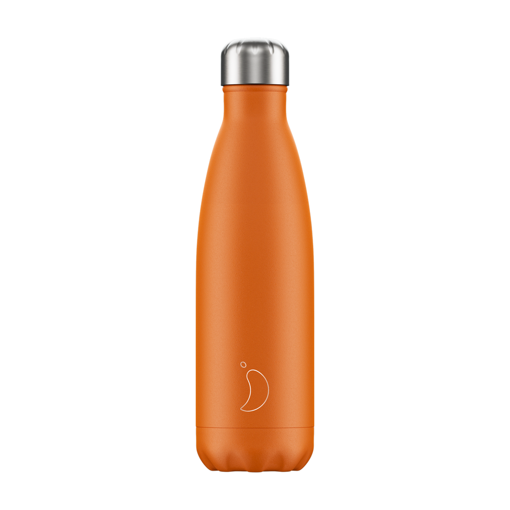 Chilly's Bottle Matte Orange 500ml