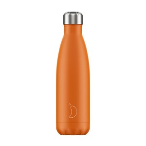 Load image into Gallery viewer, Chilly's Bottle Matte Orange 500ml