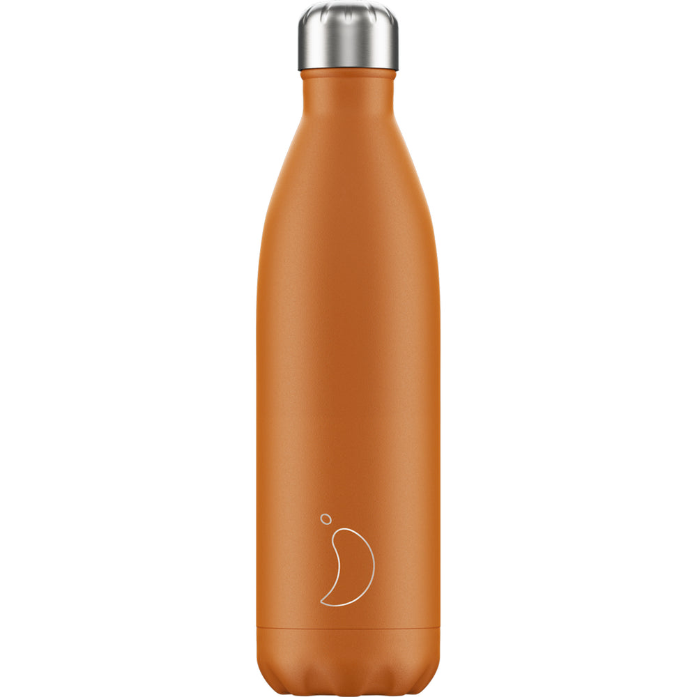 Chilly's Bottle Matte Orange 750ml
