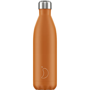 Load image into Gallery viewer, Chilly's Bottle Matte Orange 750ml