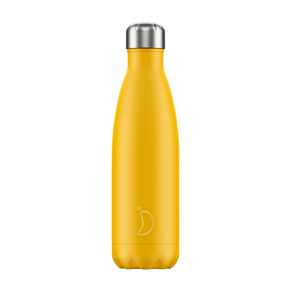 Chilly's Bottle Matte Yellow 500ml