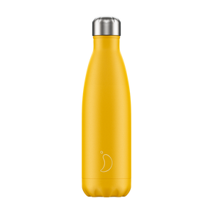Load image into Gallery viewer, Chilly's Bottle Matte Yellow 500ml