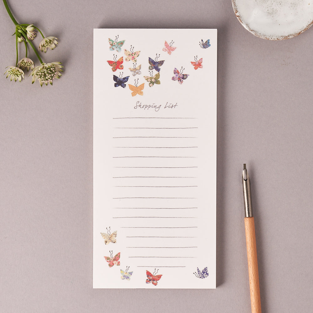 Butterfly Magnetic Notepad