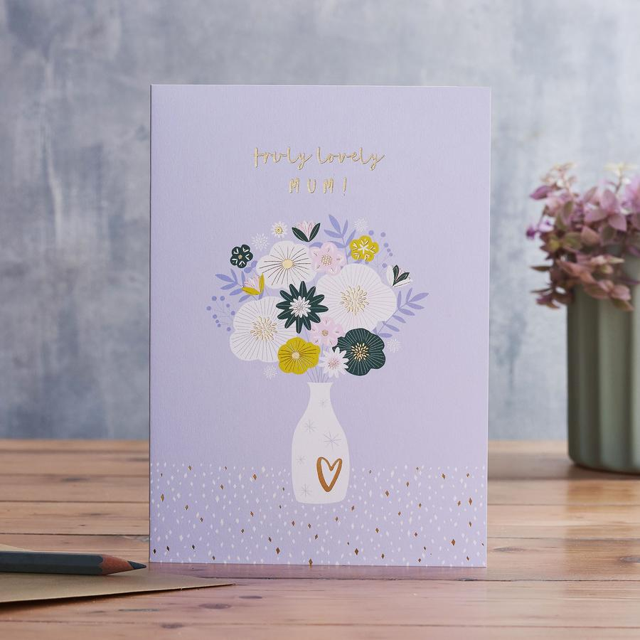 Truly Lovely Mum Mother's Day Card