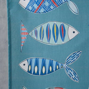 Load image into Gallery viewer, Fish Tea Towel