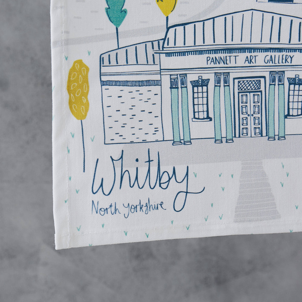 Load image into Gallery viewer, Whitby Tea Towel