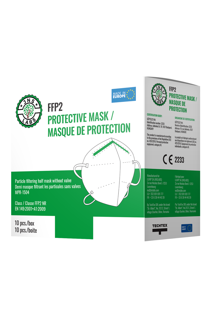 FFP2 masks, carton of 680pcs