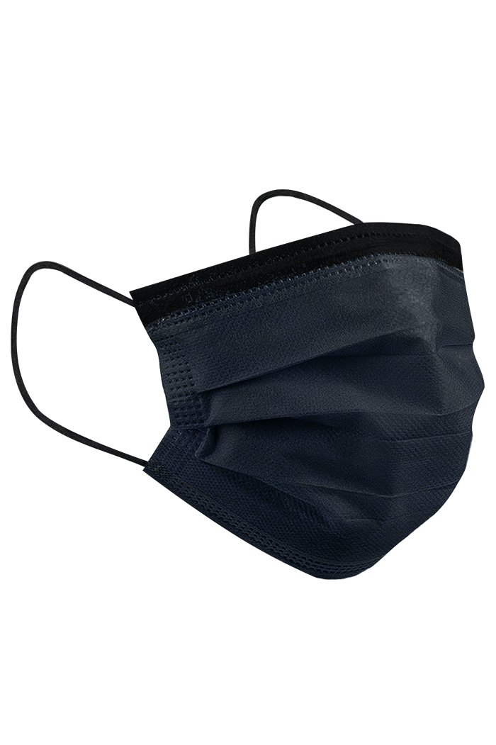 Surgical Face Masks TYPEIIR CE Black (48x50 masks) - JNSLABS