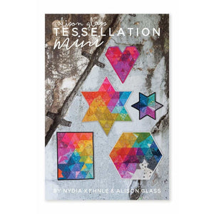 Tessellation Mini Quilt Printed Pattern Alison Glass