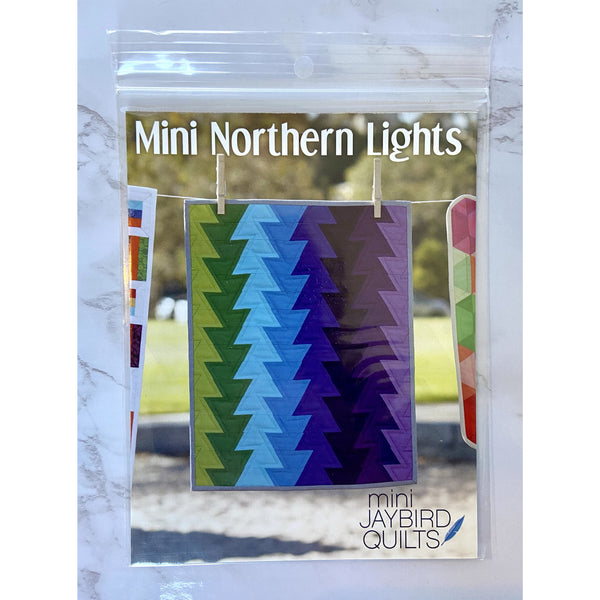 Mini Northern Lights Pattern from Jaybird Quilts