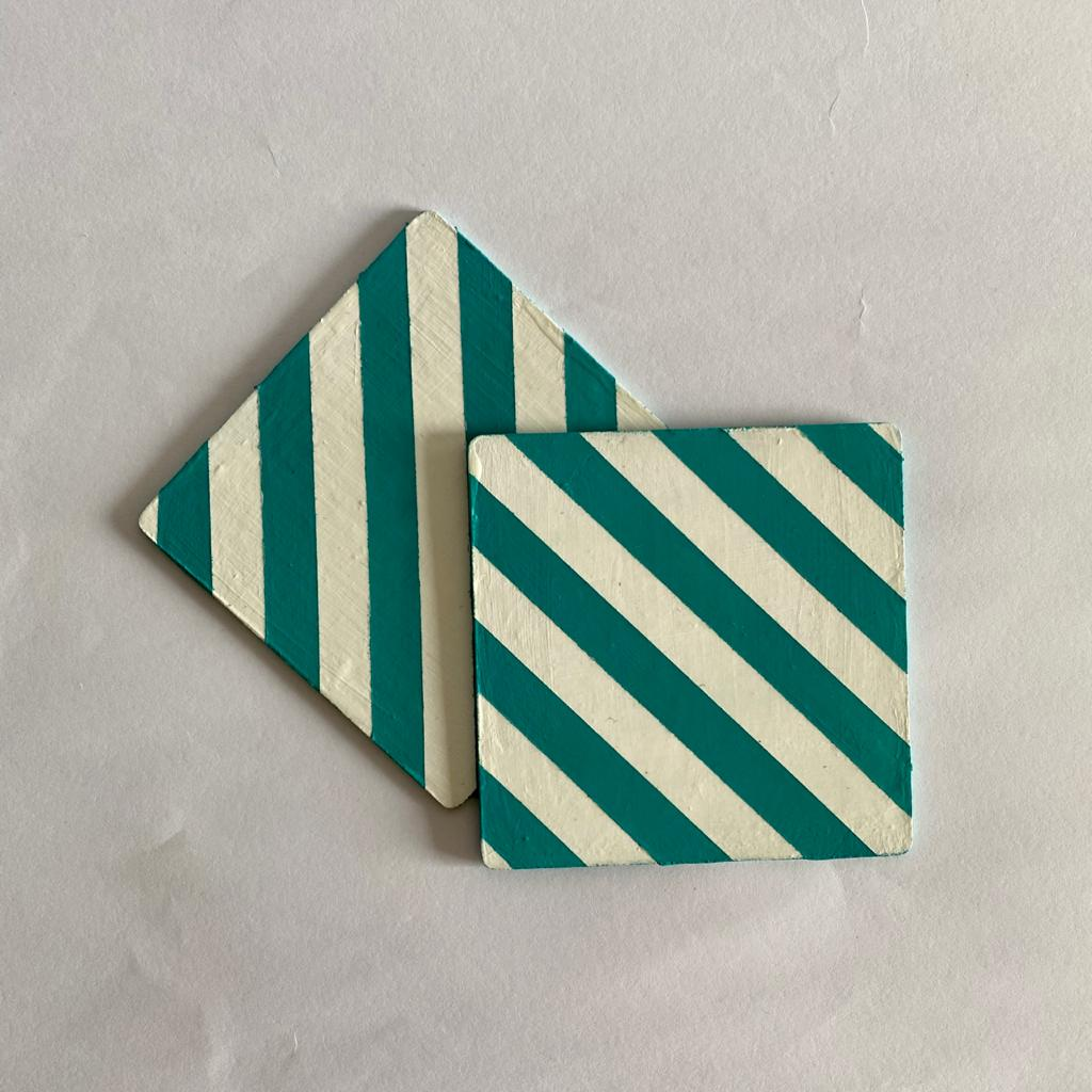Colour block Coasters