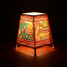 Load image into Gallery viewer, Maharaja Leather Lamp