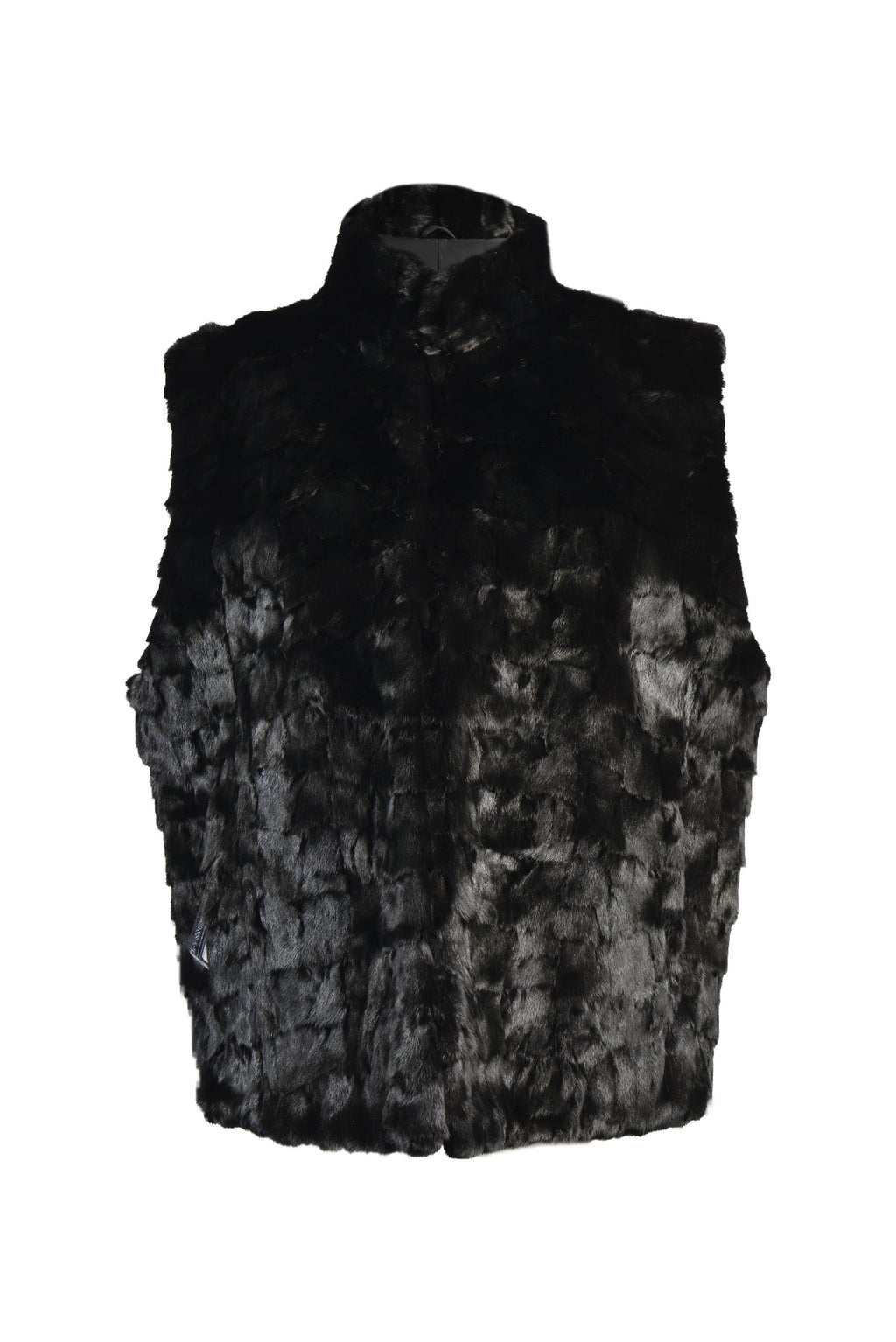Mink Sections Vest