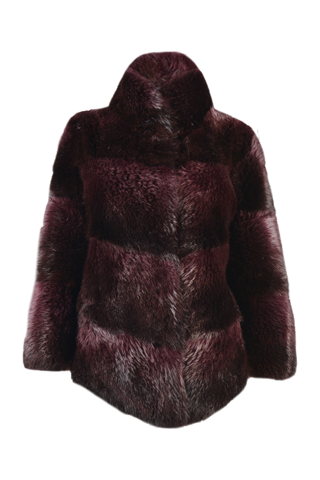Beaver Jacket in Burgundy