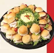 Dollar Roll Sandwich Platter