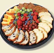 Loaf Cake & Berries Platter