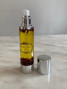 Infused Body Oil in Silver